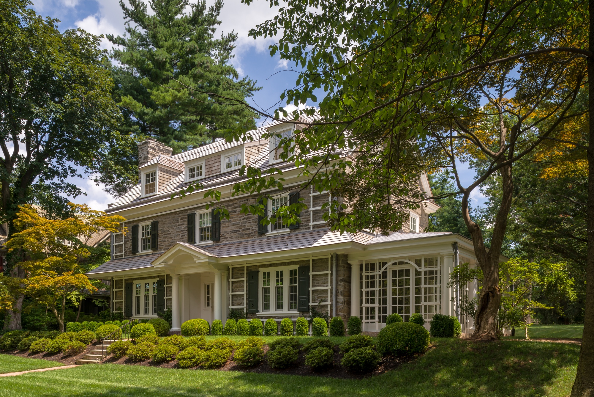 Chestnut Hill Residence Period Architecture Ltd