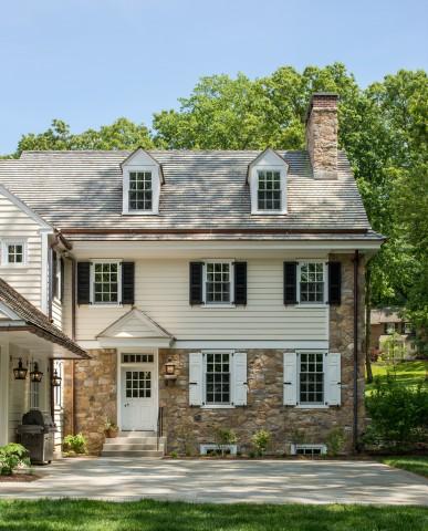 Berwyn Home with Traditional Style of Main Line Philadelphia