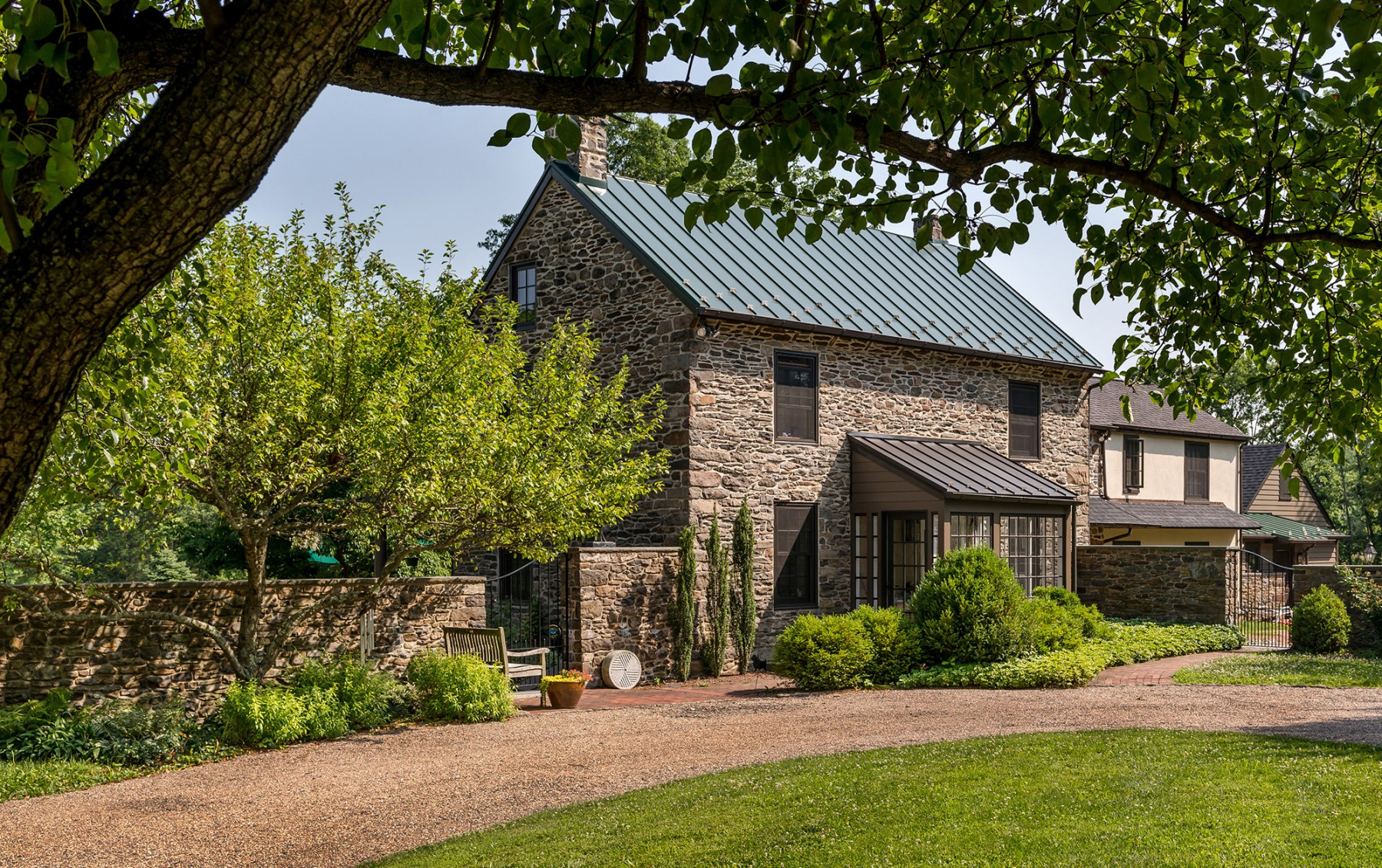 Bucks County renovation and addition exterior