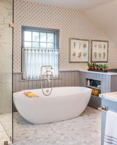 Berwyn master bathroom addition and renovation