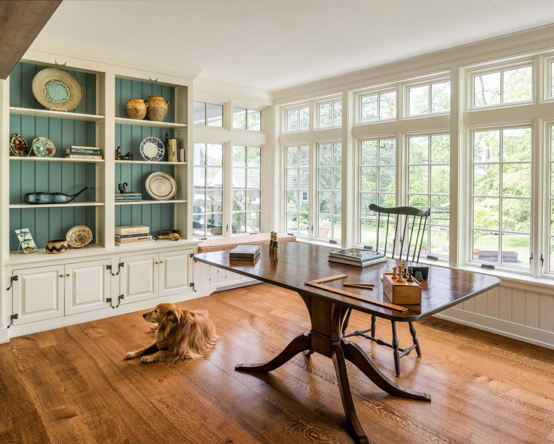 Berwyn addition and renovation home office
